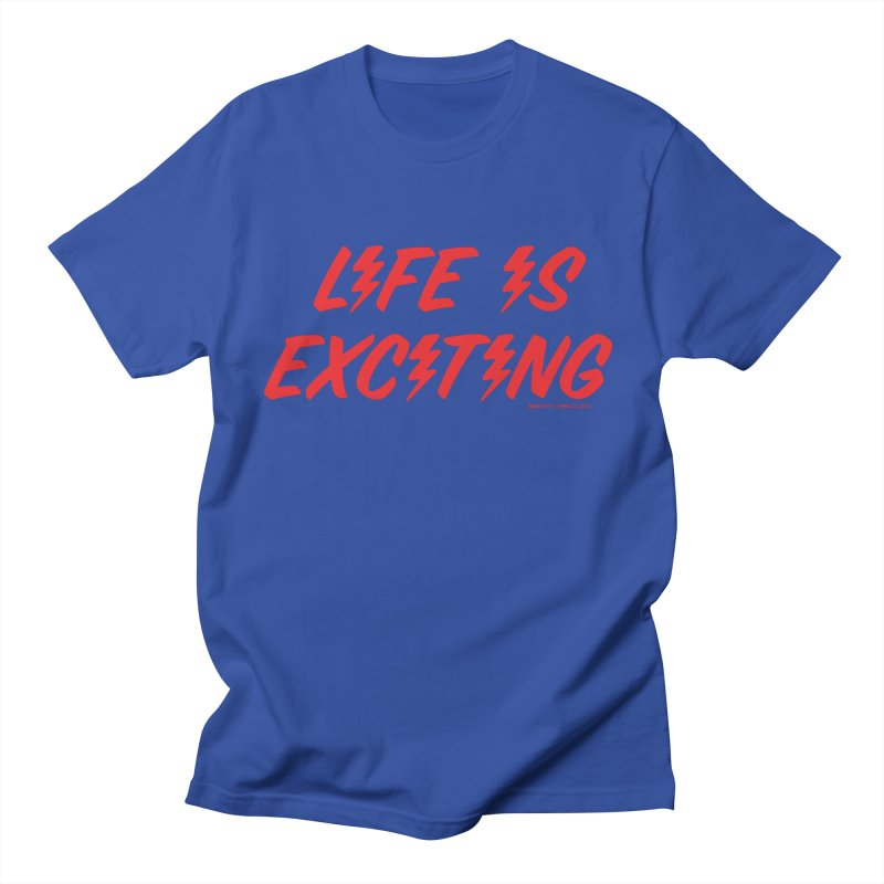 Life Is Exciting (Classic) Men's T-Shirt by Oopsy's Shop
