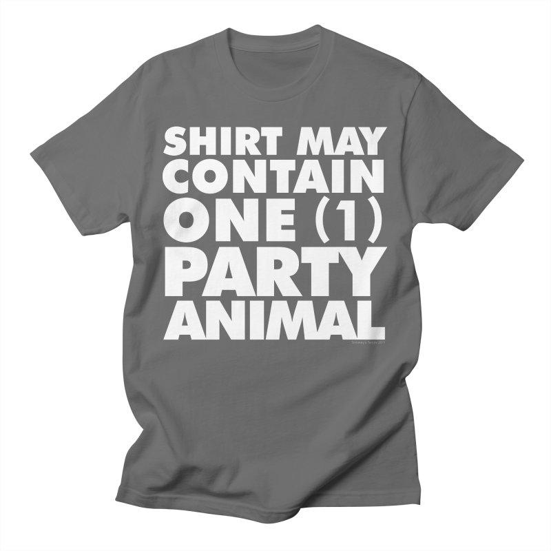 Shirt May Contain One Party Animal Women's T-Shirt by Oopsy's Shop
