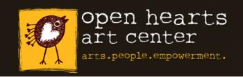 Open Hearts Art Center's Artist Shop Logo