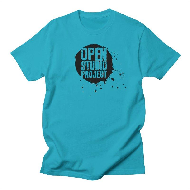 OSP Logo (Black) Men's T-Shirt by openstudioproject's Artist Shop