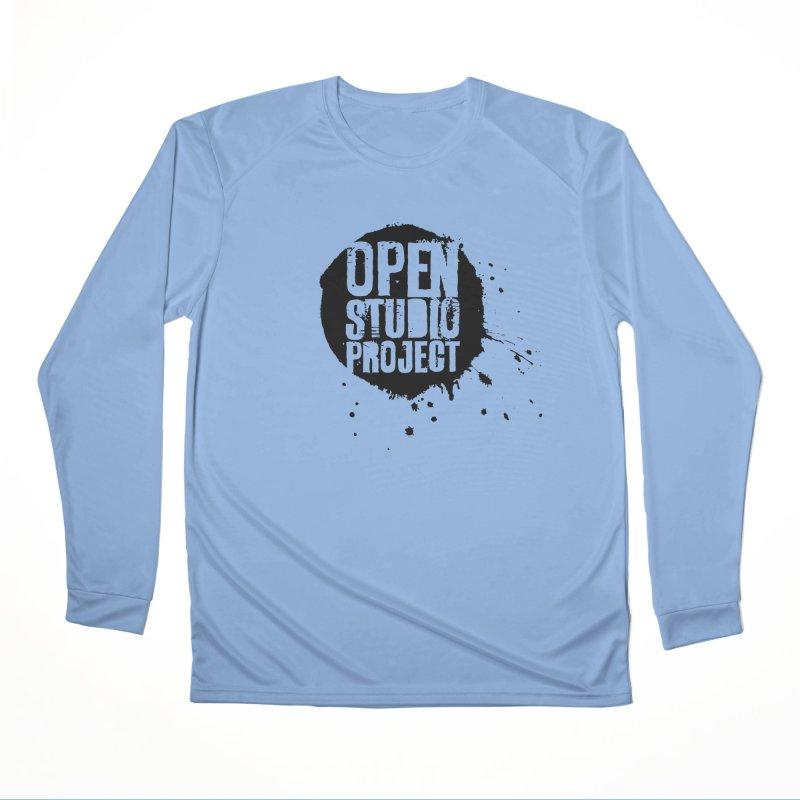 OSP Logo (Black) Women's Longsleeve T-Shirt by openstudioproject's Artist Shop