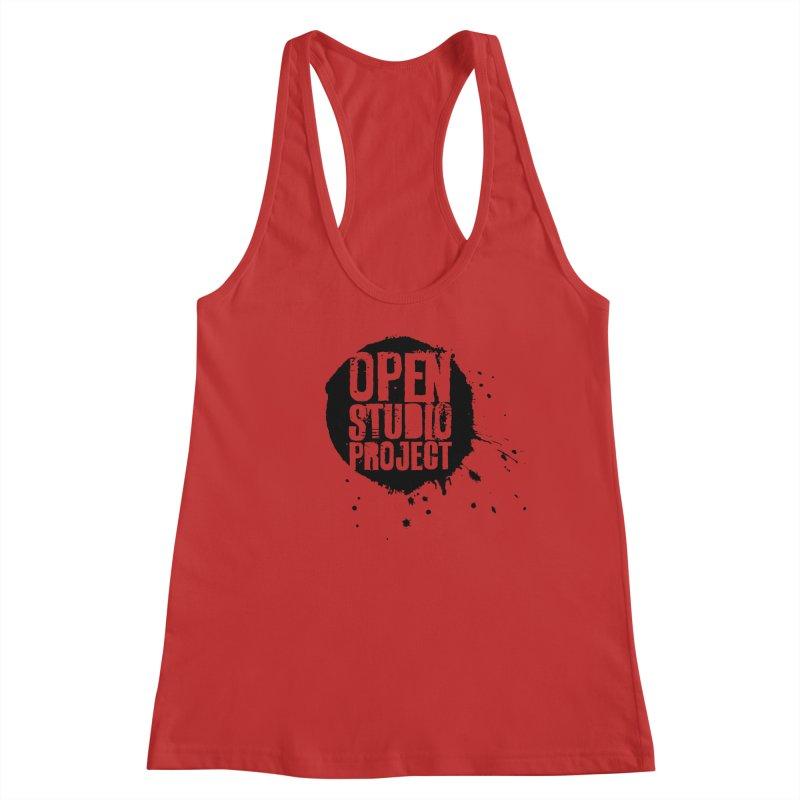OSP Logo (Black) Women's Tank by openstudioproject's Artist Shop