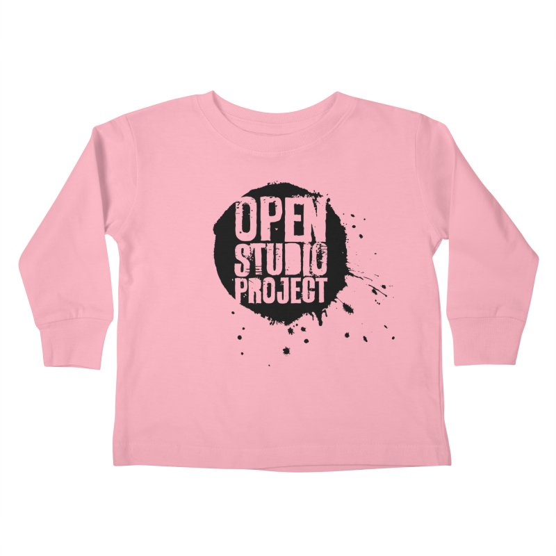OSP Logo (Black) Kids Toddler Longsleeve T-Shirt by openstudioproject's Artist Shop