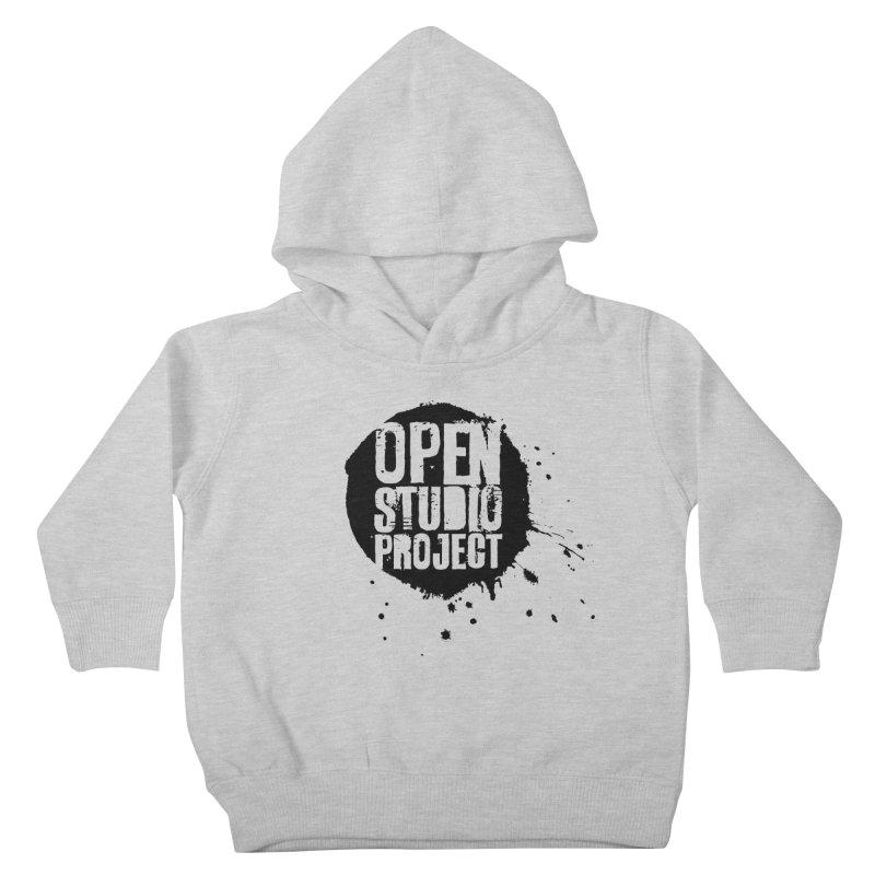 OSP Logo (Black) Kids Toddler Pullover Hoody by openstudioproject's Artist Shop
