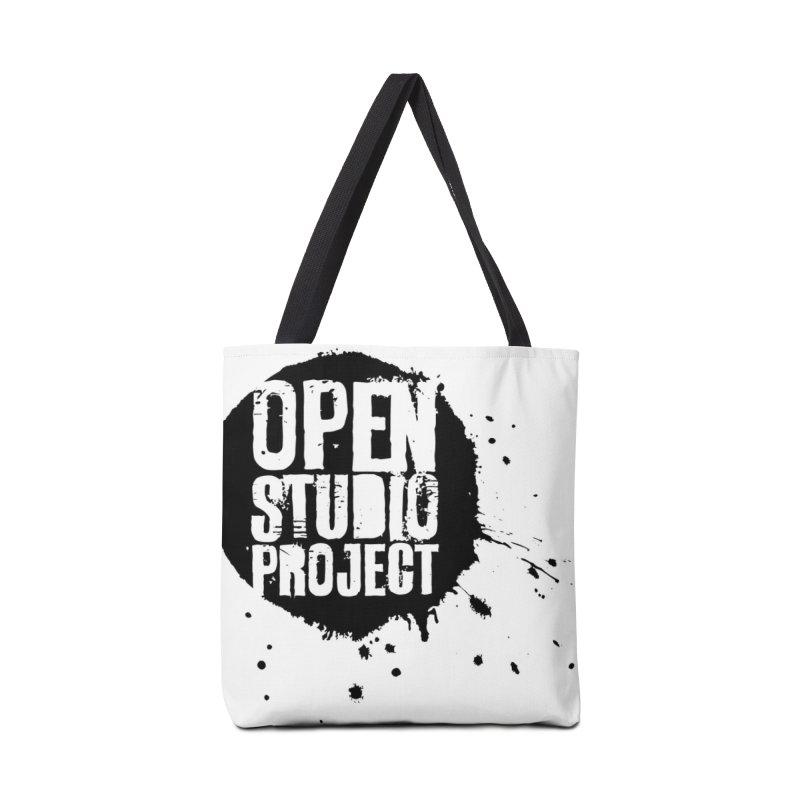 OSP Logo (Black) Accessories Bag by openstudioproject's Artist Shop