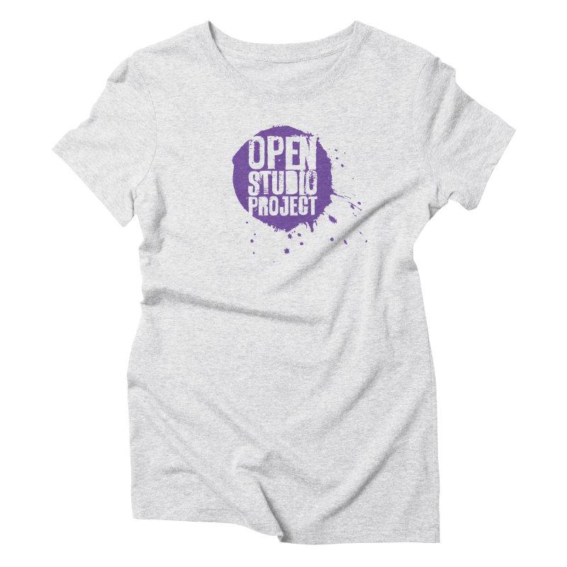 OSP Logo (Purple) Women's T-Shirt by openstudioproject's Artist Shop
