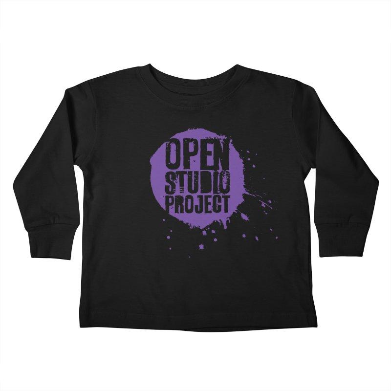 OSP Logo (Purple) Kids Toddler Longsleeve T-Shirt by openstudioproject's Artist Shop