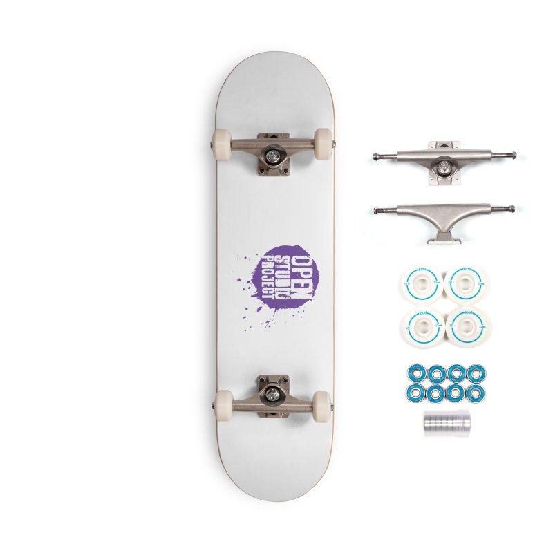 OSP Logo (Purple) Accessories Skateboard by openstudioproject's Artist Shop
