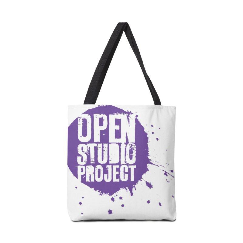 OSP Logo (Purple) Accessories Bag by openstudioproject's Artist Shop