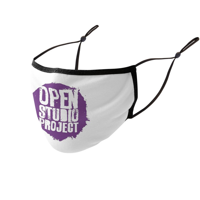 OSP Purple Logo Accessories Face Mask by openstudioproject's Artist Shop