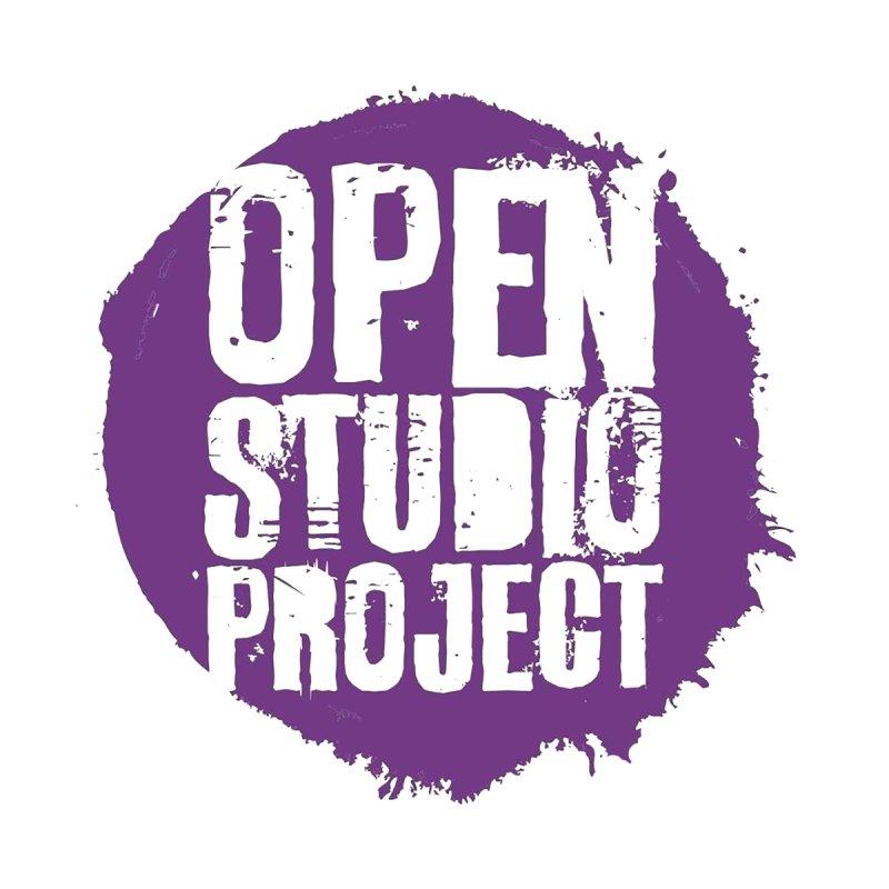 OSP Purple Logo Accessories Sticker by openstudioproject's Artist Shop