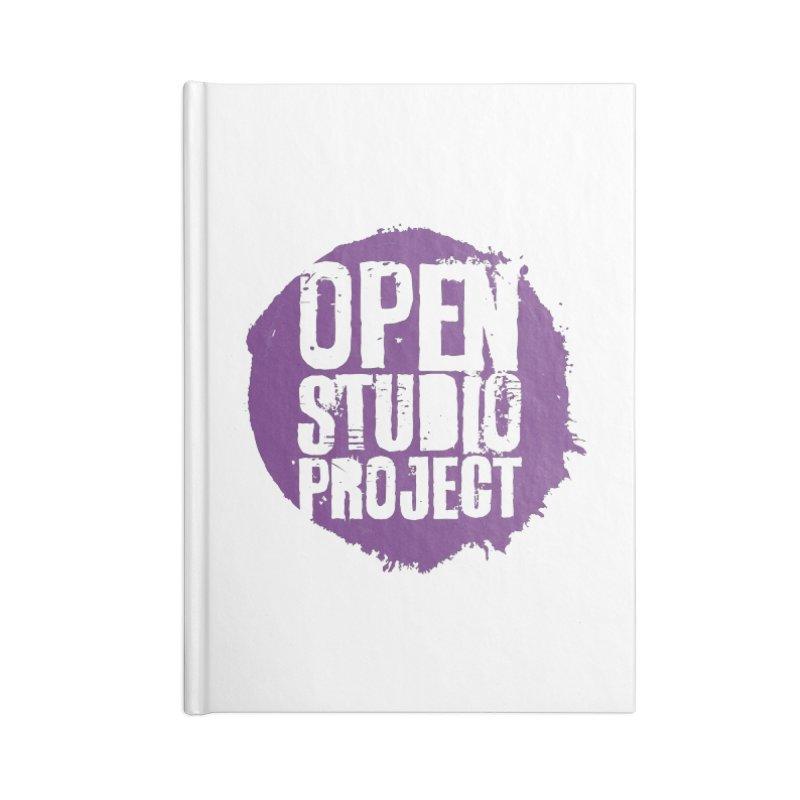 OSP Purple Logo Accessories Notebook by openstudioproject's Artist Shop