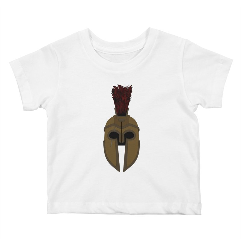 Spartan Helmet (1 of 6 Warrior Collection)   by openyourclosedmind Design's Artist Shop