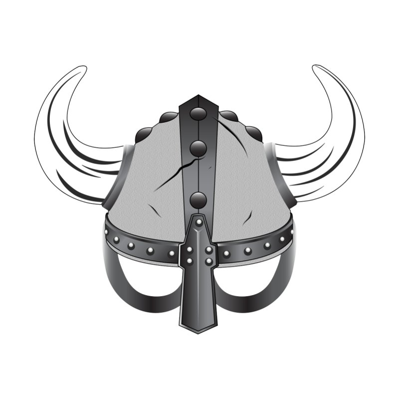 Viking Helmet (2 of 6 Warrior Collection) None  by openyourclosedmind Design's Artist Shop