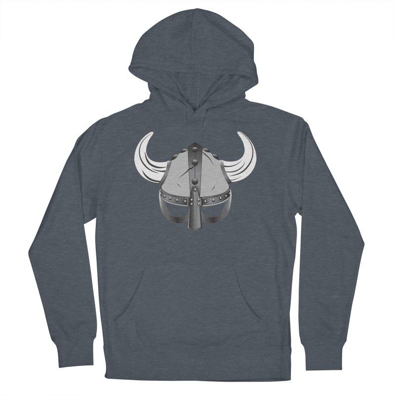 Viking Helmet (2 of 6 Warrior Collection) Men's Pullover Hoody by openyourclosedmind Design's Artist Shop