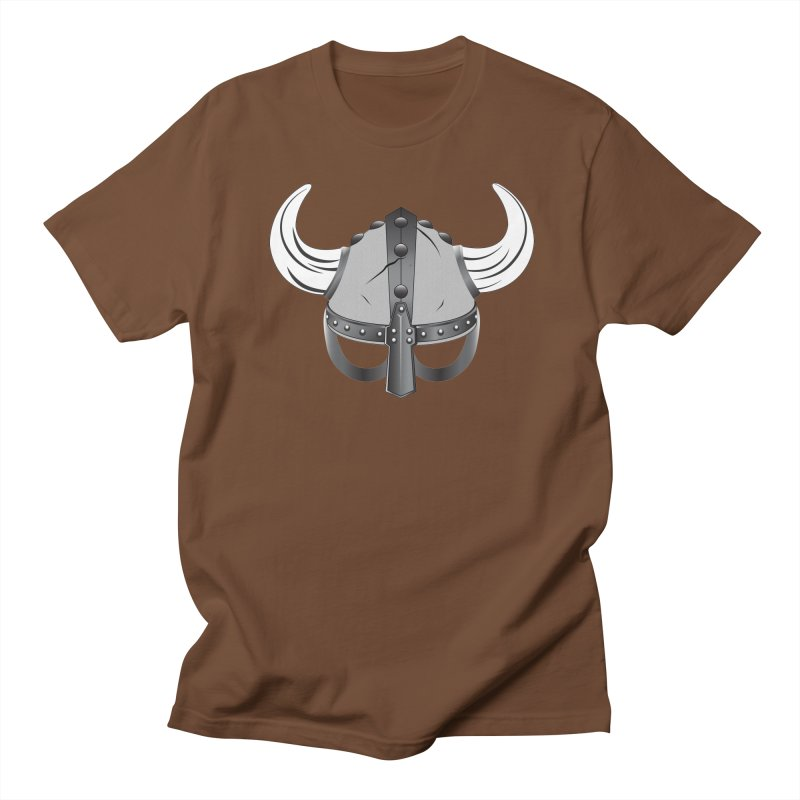 Viking Helmet (2 of 6 Warrior Collection) Men's T-shirt by openyourclosedmind Design's Artist Shop