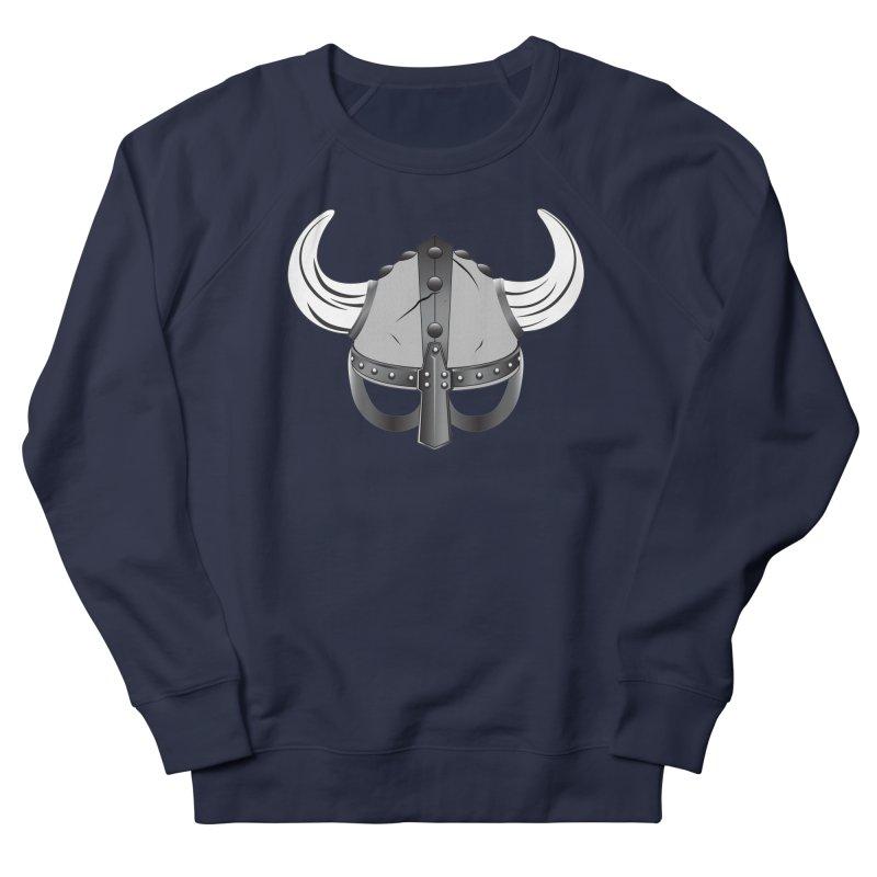 Viking Helmet (2 of 6 Warrior Collection) Men's Sweatshirt by openyourclosedmind Design's Artist Shop