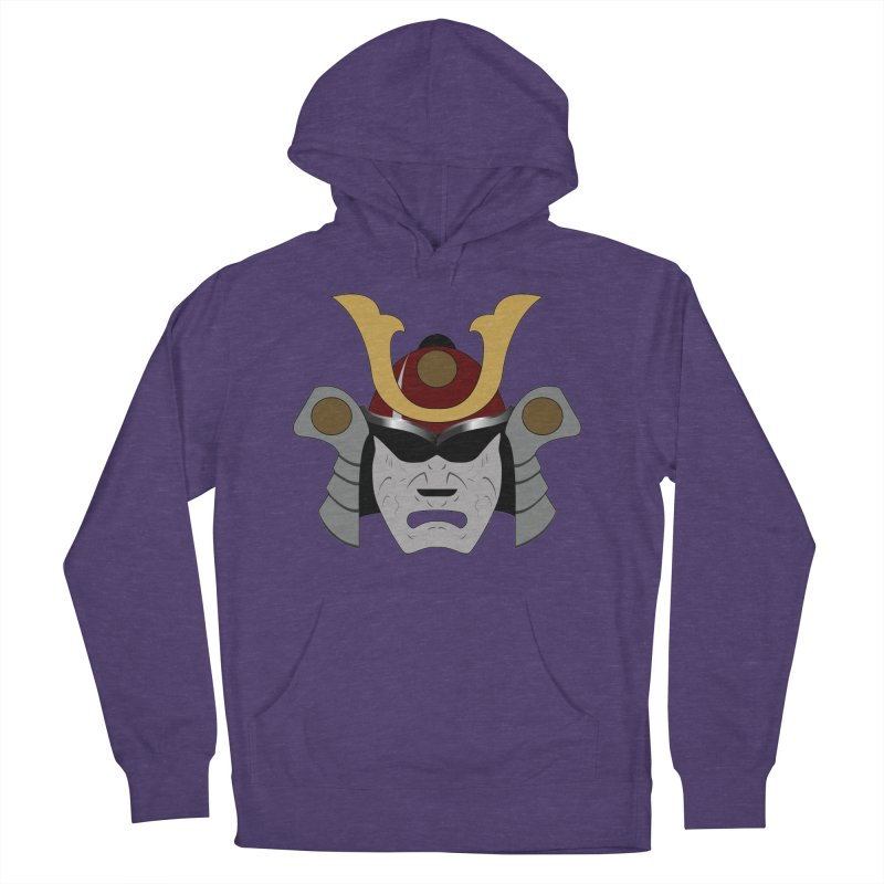 Samurai Helmet (3 of 6 Warrior Collection) Men's Pullover Hoody by openyourclosedmind Design's Artist Shop