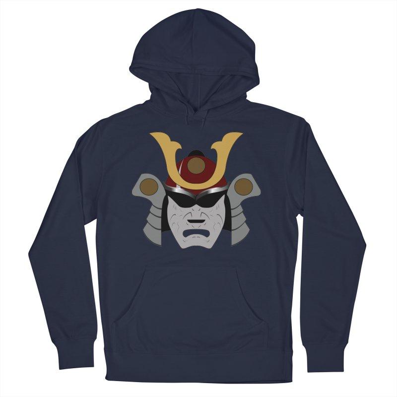 Samurai Helmet (3 of 6 Warrior Collection) Men's Pullover Hoody by openyourclosedmind Design's Artist Shop