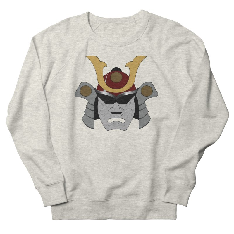 Samurai Helmet (3 of 6 Warrior Collection) Women's Sweatshirt by openyourclosedmind Design's Artist Shop