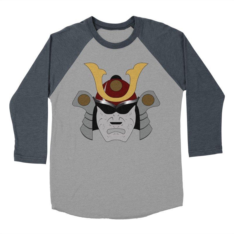 Samurai Helmet (3 of 6 Warrior Collection) Women's Baseball Triblend T-Shirt by openyourclosedmind Design's Artist Shop