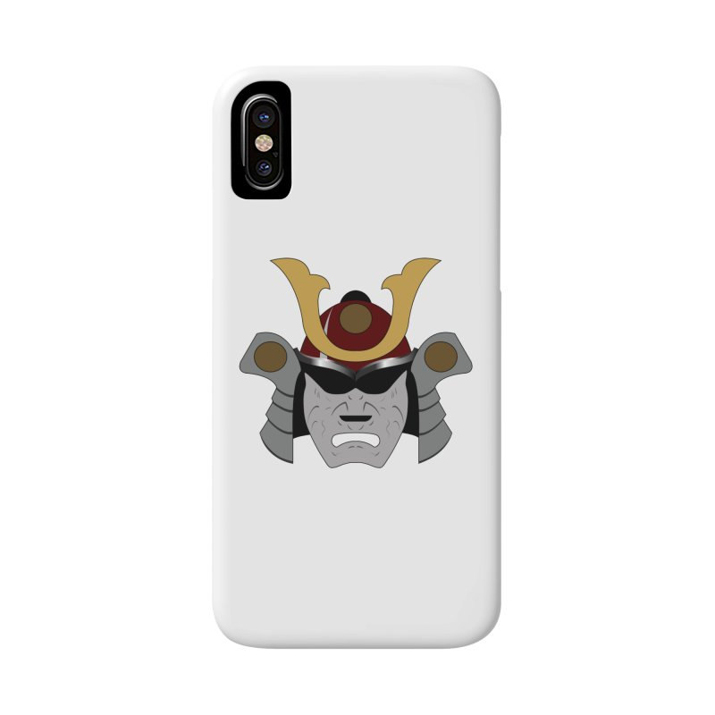Samurai Helmet (3 of 6 Warrior Collection) Accessories Phone Case by openyourclosedmind Design's Artist Shop