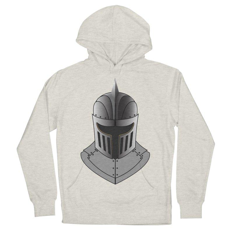 Knight Helmet (4 of 6 Warrior Collection) Men's Pullover Hoody by openyourclosedmind Design's Artist Shop