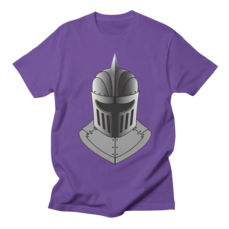 Knight Helmet (4 of 6 Warrior Collection) Women's Unisex T-Shirt by openyourclosedmind Design's Artist Shop
