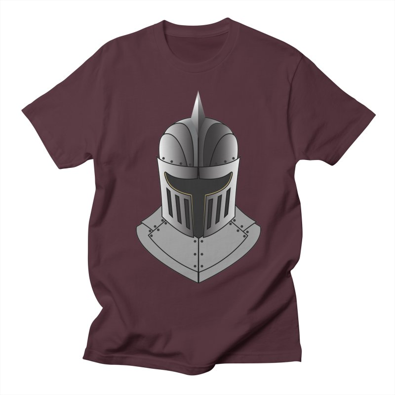 Knight Helmet (4 of 6 Warrior Collection) Women's Unisex T-Shirt by openyourclosedmind Design's Artist Shop
