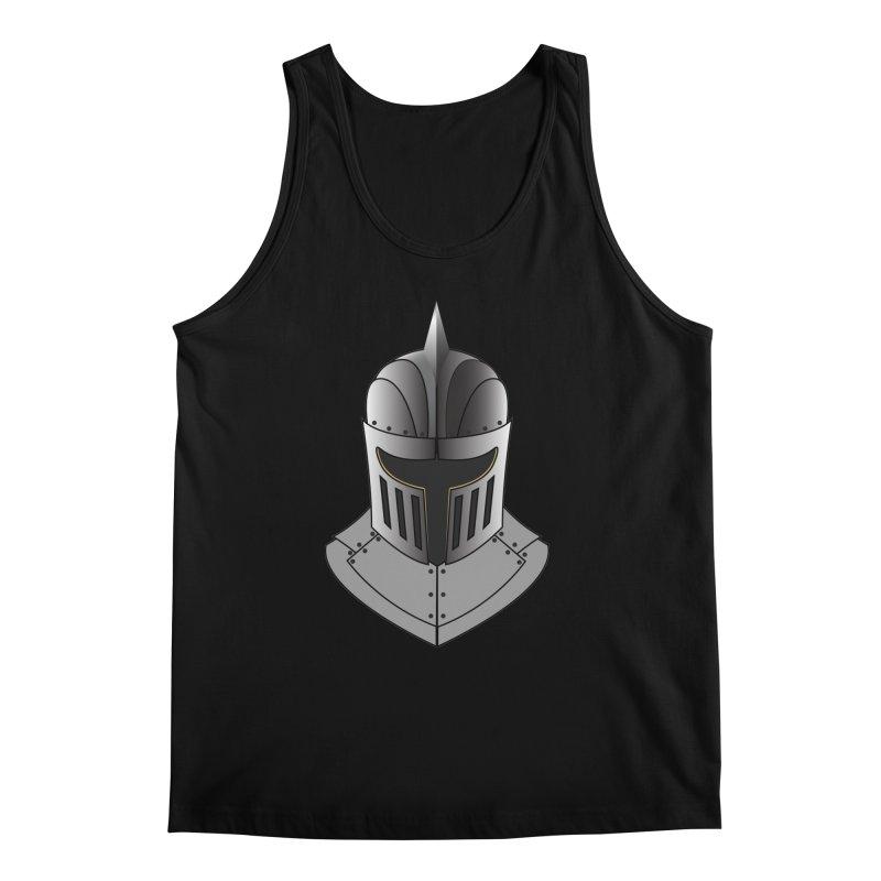 Knight Helmet (4 of 6 Warrior Collection) Men's Tank by openyourclosedmind Design's Artist Shop