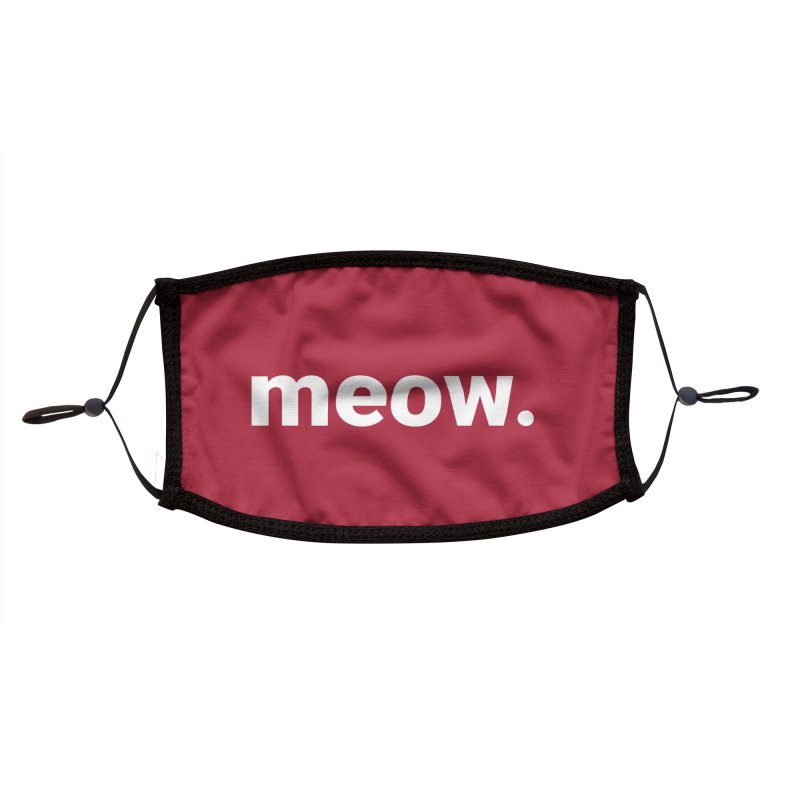 Face Mask - Meow Accessories Face Mask by operationkindness's shop
