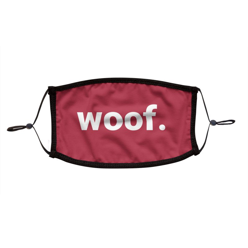 Face Mask - Woof Accessories Face Mask by operationkindness's shop