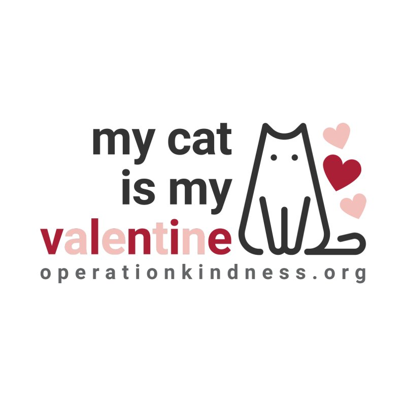 2021 - Valentine's Cat Women's Longsleeve T-Shirt by operationkindness's shop