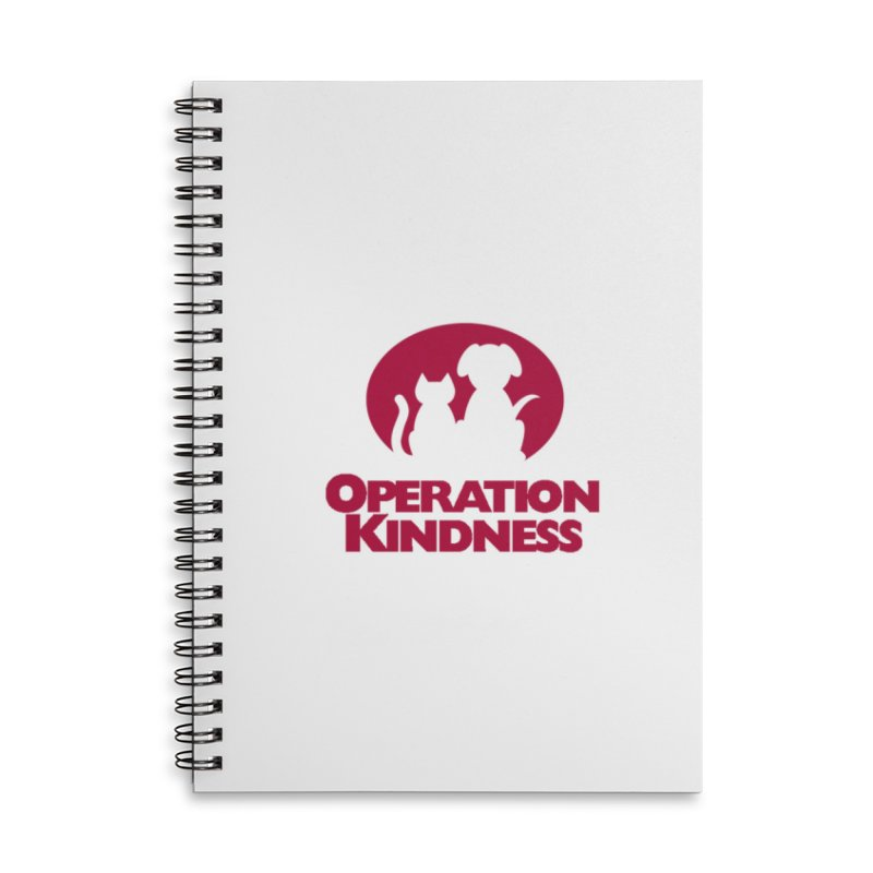 Operation Kindness Logo in Lined Spiral Notebook by operationkindness's shop