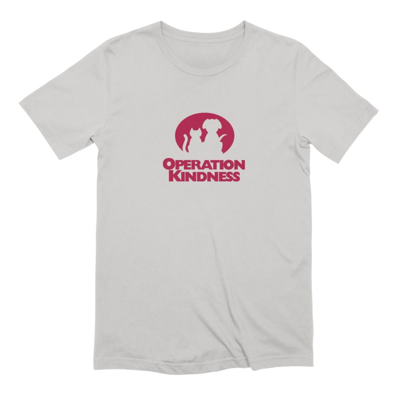 Operation Kindness Logo in Men's Extra Soft T-Shirt Stone by operationkindness's shop