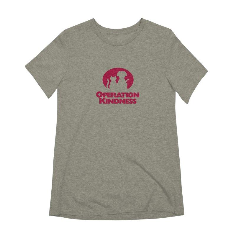 Operation Kindness Logo Women's Extra Soft T-Shirt by operationkindness's shop