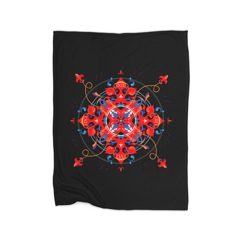 Ganesha Mandala Home Blanket by