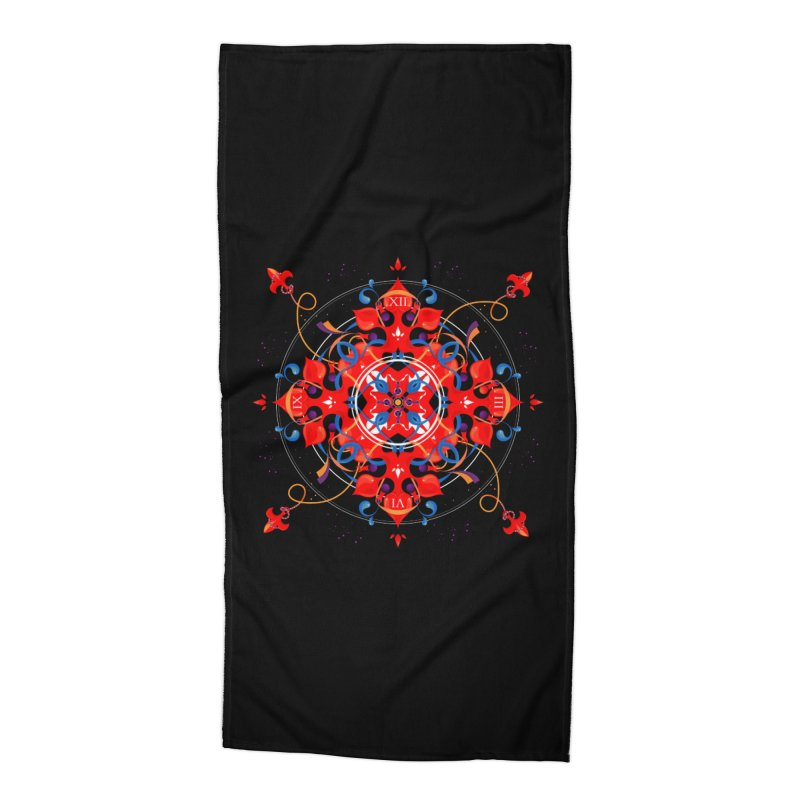 Ganesha Mandala Accessories Beach Towel by