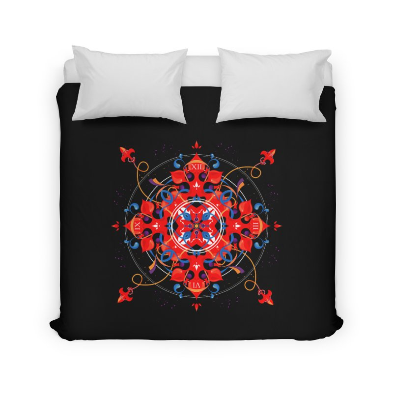 Ganesha Mandala Home Duvet by