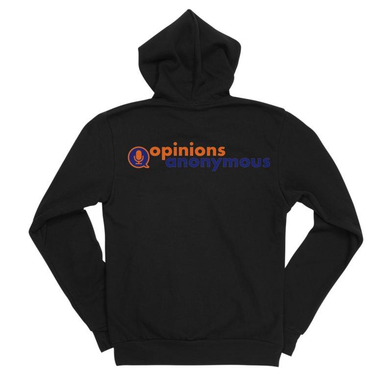 Opinions Anonymous Women's Sponge Fleece Zip-Up Hoody by Opinions Anonymous