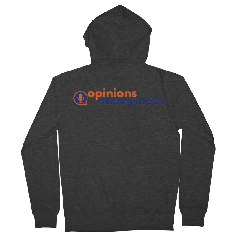 Opinions Anonymous Men's French Terry Zip-Up Hoody by Opinions Anonymous
