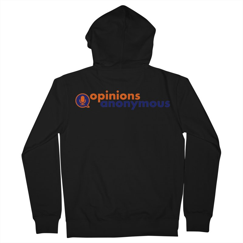 Opinions Anonymous Men's Zip-Up Hoody by Opinions Anonymous