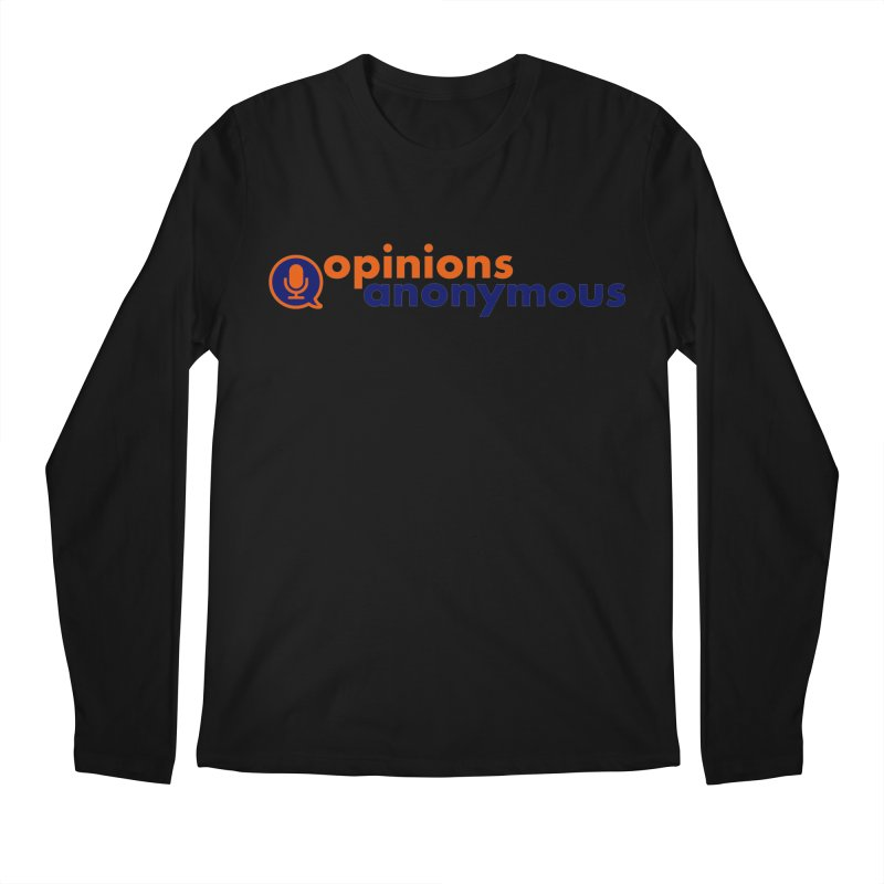 Opinions Anonymous Men's Regular Longsleeve T-Shirt by Opinions Anonymous