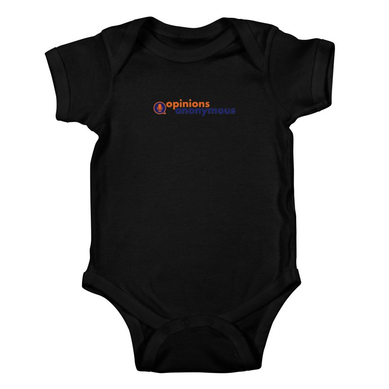 Opinions Anonymous Kids Baby Bodysuit by Opinions Anonymous