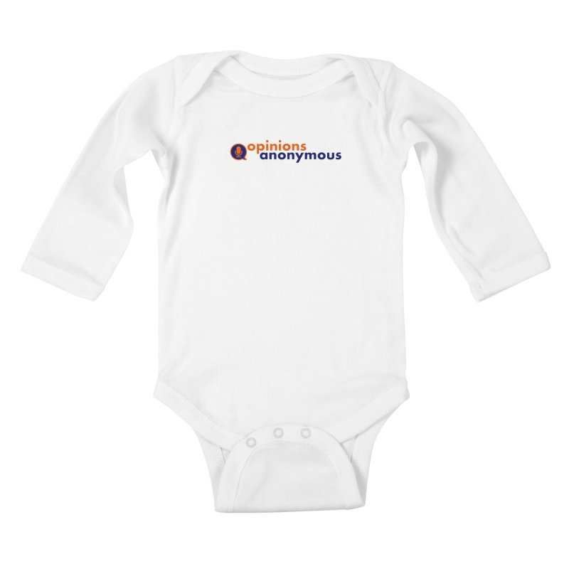 Opinions Anonymous Kids Baby Longsleeve Bodysuit by Opinions Anonymous