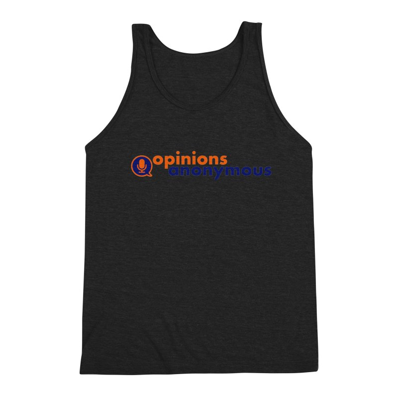 Opinions Anonymous Men's Triblend Tank by Opinions Anonymous