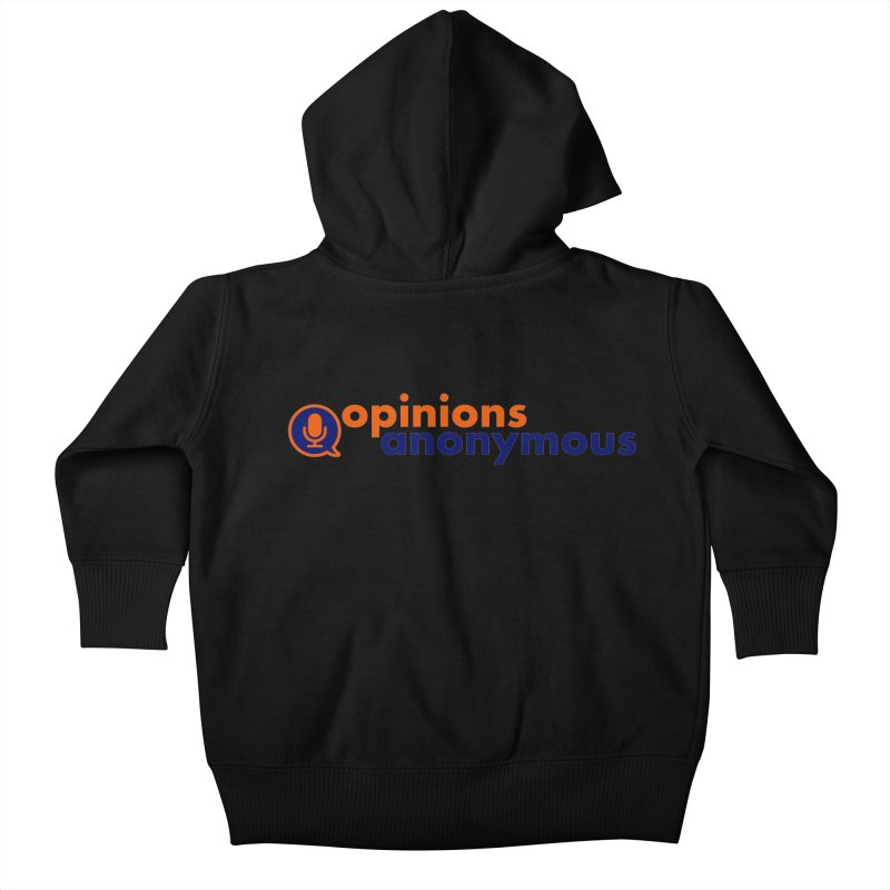 Opinions Anonymous Kids Baby Zip-Up Hoody by Opinions Anonymous