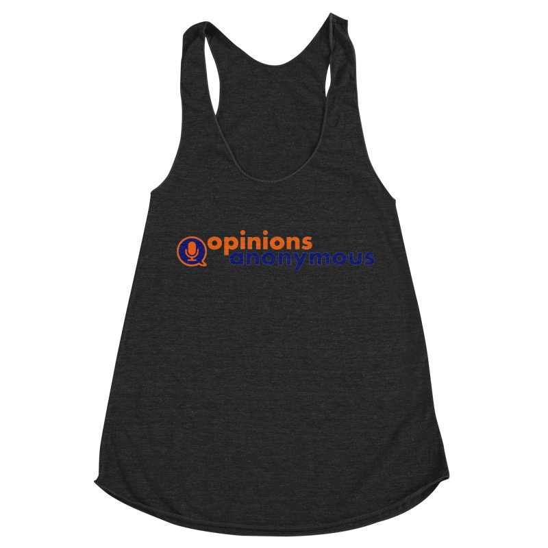 Opinions Anonymous Women's Racerback Triblend Tank by Opinions Anonymous
