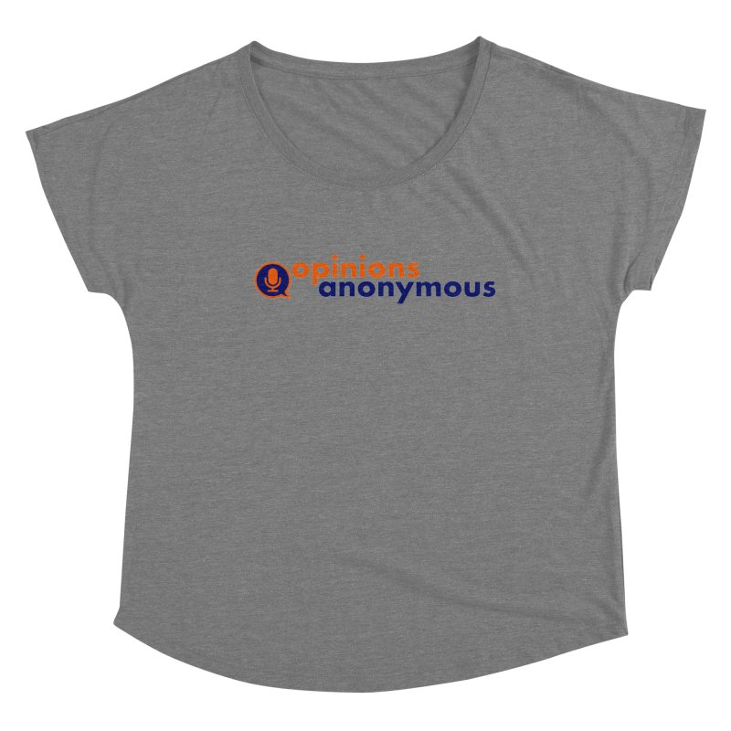 Opinions Anonymous Women's Scoop Neck by Opinions Anonymous