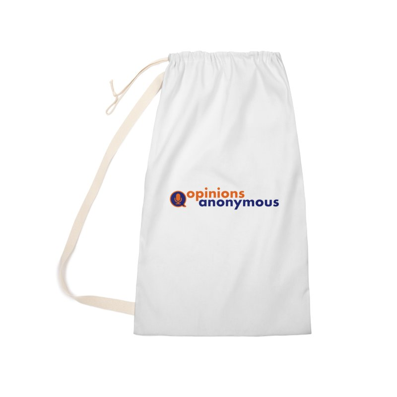 Opinions Anonymous Accessories Laundry Bag Bag by Opinions Anonymous